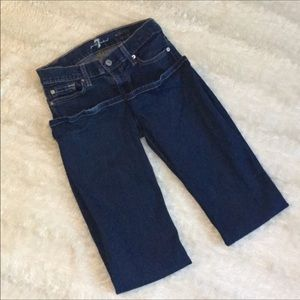 7 for all mankind Sz 26 skinny boot cut jeans